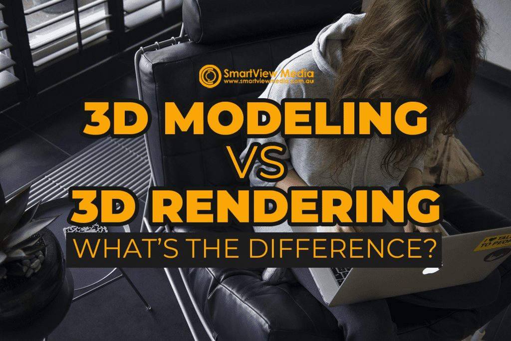 3D Modeling VS 3D Rendering: What's the Difference?